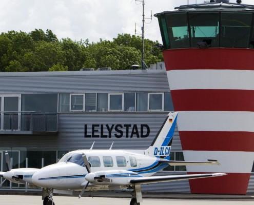 Verkeerstoren Lelystad Airport