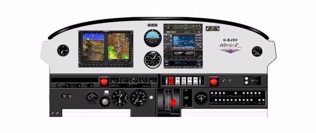 Glass cockpit Vliegclub Flevo
